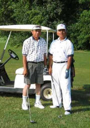 My Golfing Buddies of July 20, 2002.